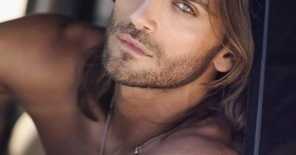 hot guys with long hair. i do love flow.