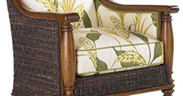 LX-1695-11 Tommy Bahama Island Estate Agave Chair in plain fabric for living room? : Dream Home ...