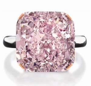 A 2 5 Million 10 Carat Pink Diamond At Edmonton Jewelry Store Pink Diamond Ring Purplish Pink Diamond Pink Diamond