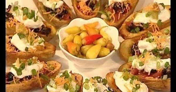 قوارب البطاطس المحشية منال العالم Recipes Cooking Main Dishes