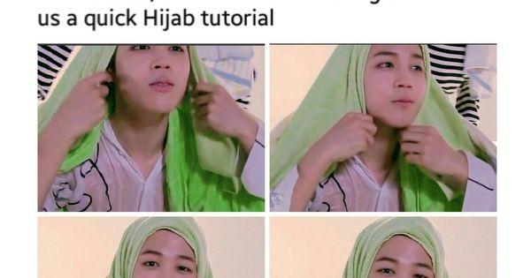 Bts Muslim Jokes Bts Hijabis Bts Jimin Funny Bts Memes Bts Memes Hilarious