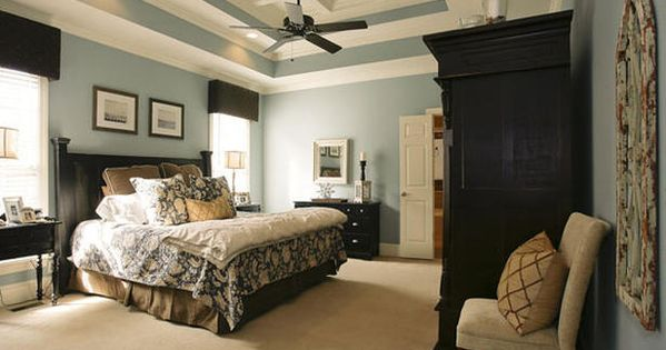 master bedroom colors | love the colors and ceiling.. | Master Bedroom