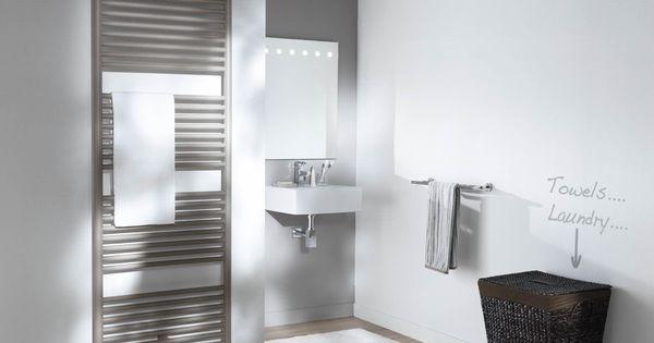 Praxis met muurdecoratie geef je de badkamer een speelse uitstraling meer badkamer inspiratie - Muurdecoratie badkamer ...