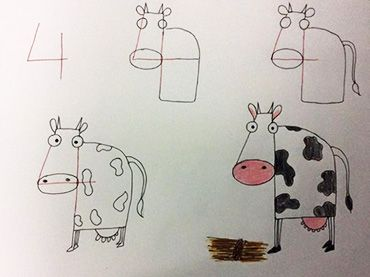 Drawing Animals Using Numbers Google Search Drawing Videos For Kids Drawing For Kids Learn Art