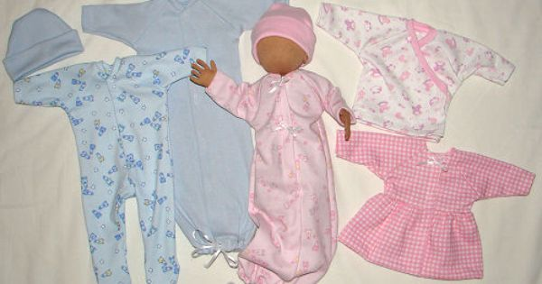 NG Creations Sewing Pattern #PP27 Slumber Party Sleepwear fits Barbie Doll