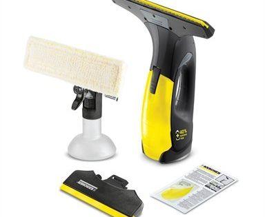 Karcher Wv2 Black Premium Window Vac In 2020 Clean Microfiber Shower Screen Vacuums