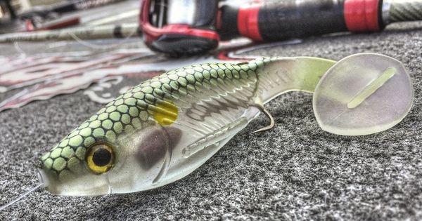 Russ lane 39 s finished rig on the big bite baits bb kicker for Fish bites bait