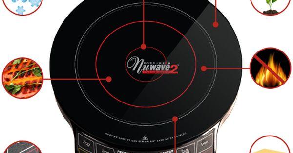 Nuwave Pic Gold Pic Flex Package Nuwave Induction Cooktop Cool Kitchen Appliances
