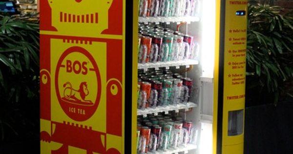 what did the vending machine dispense