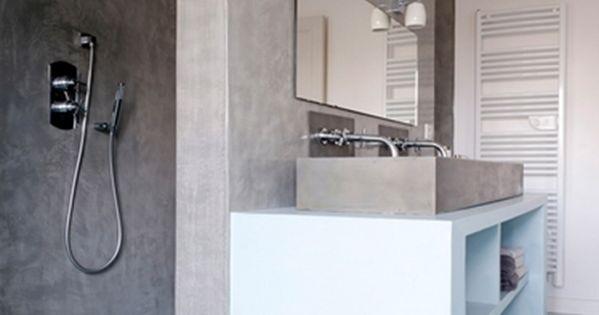 conseils astuces comment moderniser sa salle de bain le b ton beton et conseils. Black Bedroom Furniture Sets. Home Design Ideas