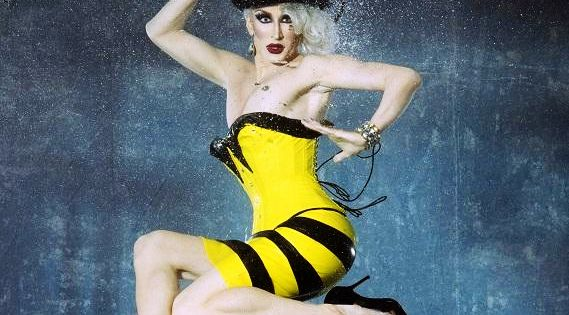 FIERCE! Detox Icunt of RuPaul's Drag Race, working it in our Nightshade