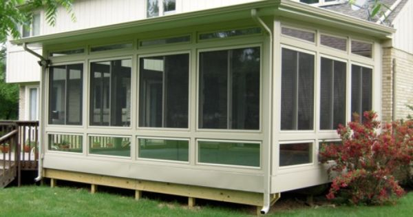 Bloomfield Insulated Sunroom On Rear Deck A Great Way To
