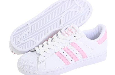 adidas superstar pink women