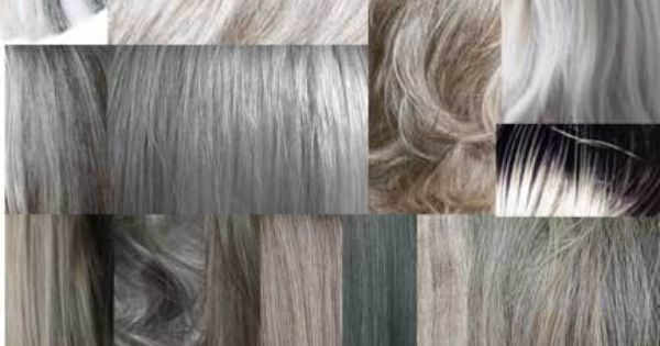Grey Hair And Seasonal Colors Of Gray Going Gray