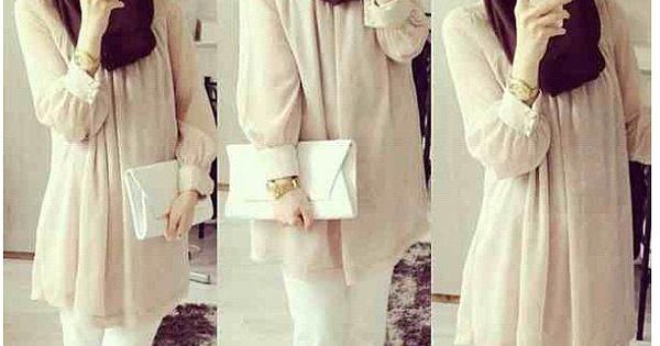 Muslimah Fashion Inspiration Selfie Pinterest Pastel Pantalons Et Mode Hijab