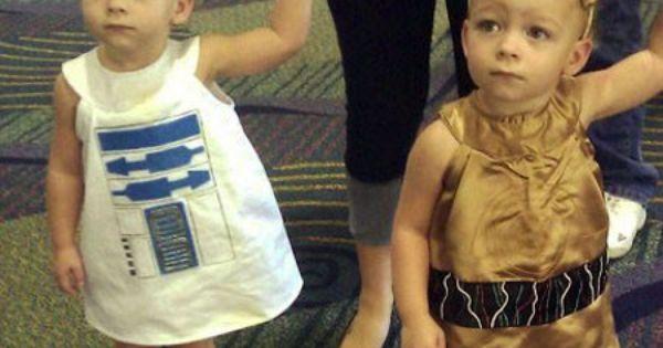 Star Wars costumes. PRESH!!!!! My future kids! :))