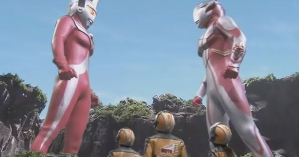 Ultraman Taro (left) Son of Father of Ultra and Mother of ...
