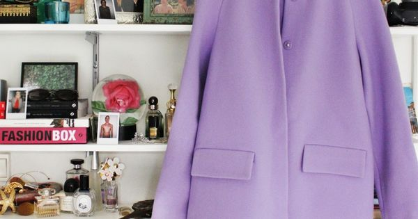 beautiful lavender coat!