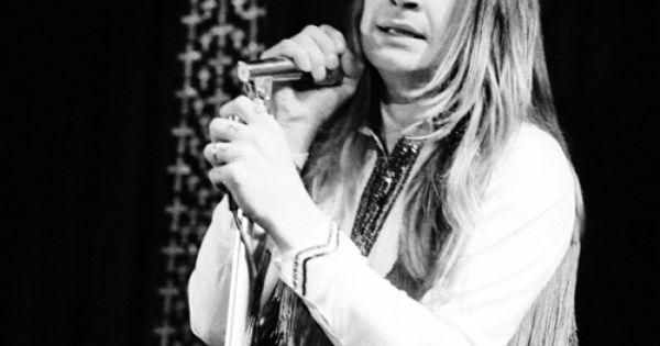 Ozzy Osbourne of Black Sabbath performs in Copenhagen, Denmark.