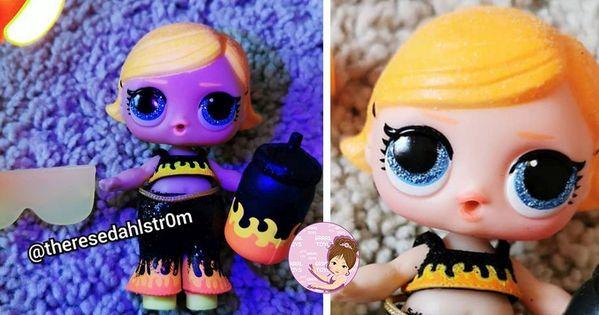 LOL Surprise Lights Glitter Series Ball Black Light Neon Doll 2020 Authentic New