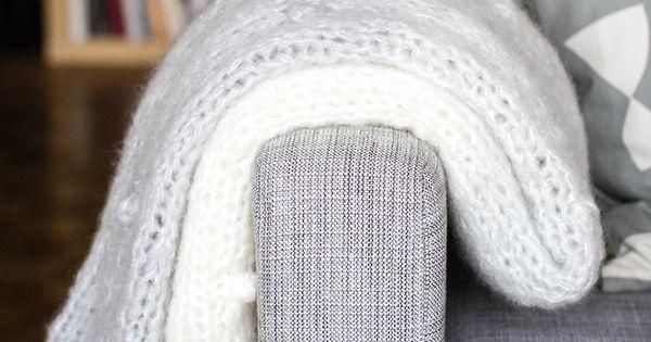 diy tricot le plaid nuage xxl tricot pinterest bricolage tricot et crochet et motifs. Black Bedroom Furniture Sets. Home Design Ideas