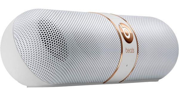 beats by dre beats pill 2 0 white rose gold. Black Bedroom Furniture Sets. Home Design Ideas