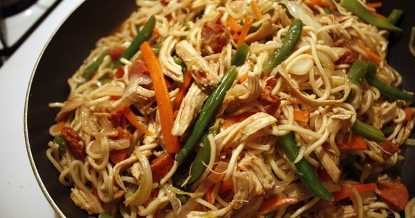 how to cook fresh pancit noodles