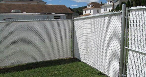 Image Result For Chain Link Fence Vinyl Slats Chain Link Fence Pool Patio Chain Link