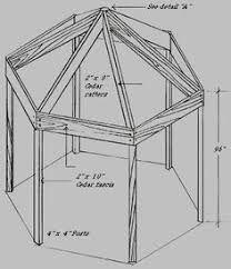 Image Result For Free Octagon Gazebo Roof Plans Backyard Gazebo