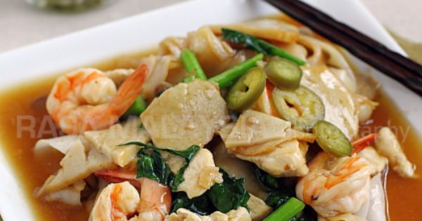 Noodles, Rice noodles and Fried rice noodles on Pinterest