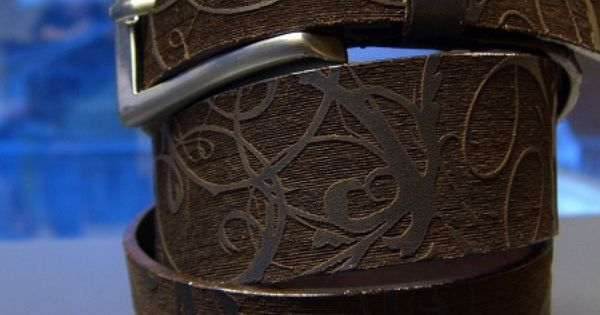 Laser Engraved Leather Belt Projects To Try Pinterest