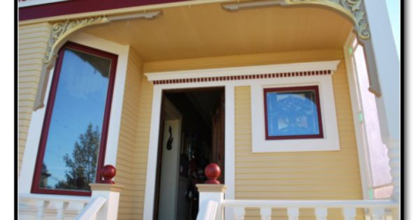 Exterior Yellow House Paint Scheme Home Decorating Pinterest Paint Schemes Yellow Houses
