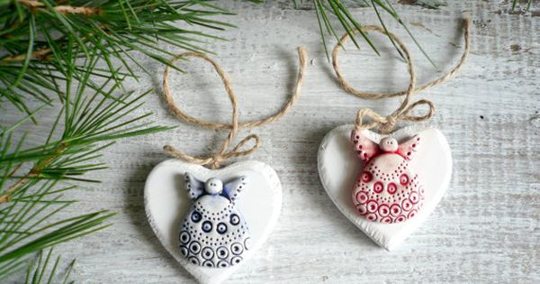 Idea Regalo per Bambini e Donne Decorazione Natalizia a Forma di Balene Beluga in Ceramica Dant454ty Decorazione per Albero di Natale da Appendere