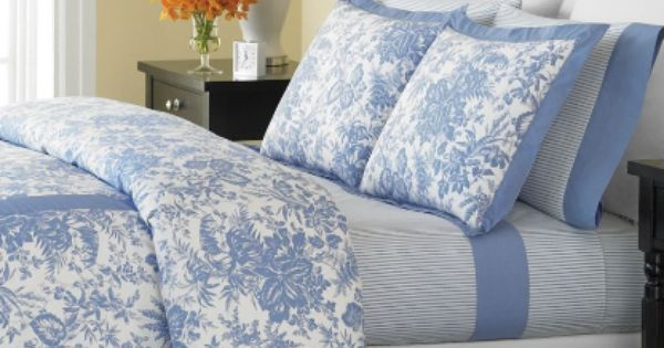 Martha Stewart blue bedding | Sweet Dreams | Pinterest ...