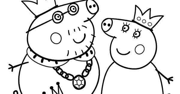 peppa pig coloring pages birthday balloon | Peppa pig coloring pages for kids, printable free ...