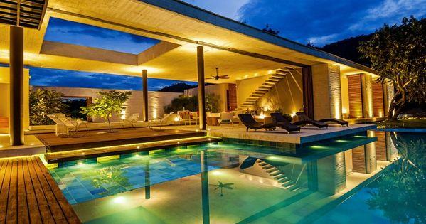 Villa de luxe futur maison pinterest colombie - Villa de luxe minorque esteve estudio ...