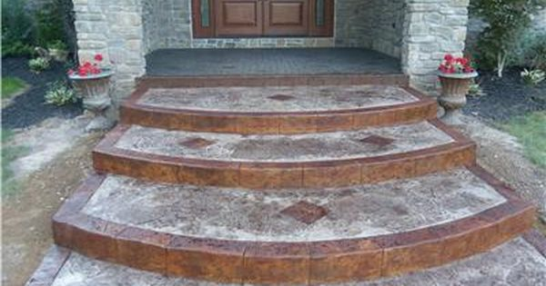 Pin On Concrete Steps And Walkways
