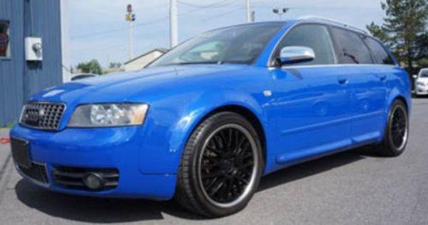 For Sale 2004 Audi S4 Avant Wagon Nogaro Blue 6 Speed W Alcant Audi S4 Audi Wagon
