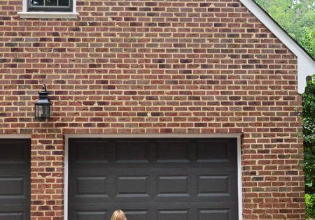 Painting Our Garage Doors A Richer Deeper Color Garage