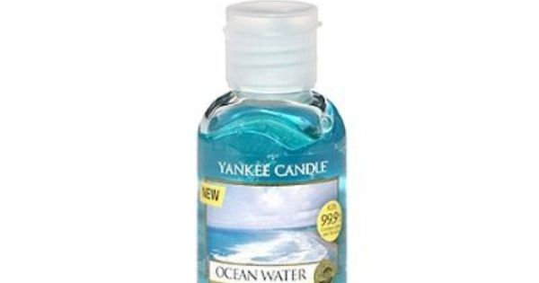 Ocean Water Hand Sanitizer Travel Size By Yankee Candle 6 99