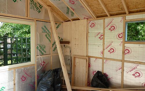 New Shed Project 17 Insulation Almost Completed Timber