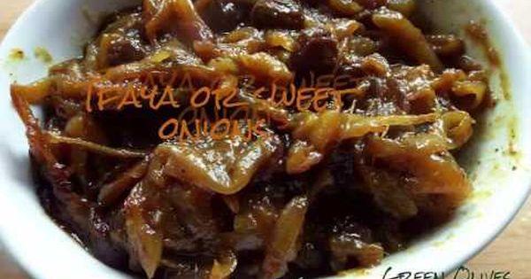 طريقة تحضير التفاية من عند الشاف هدى اليداري Youtube Sweet Onion Recipes Moroccan Food