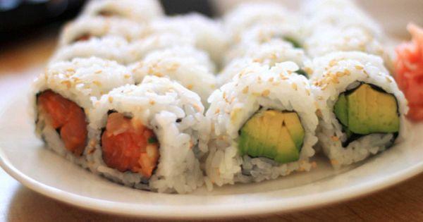 ... Avocado Rolls | Sushi Sushi Sushi | Pinterest | Spicy Salmon, Avocado