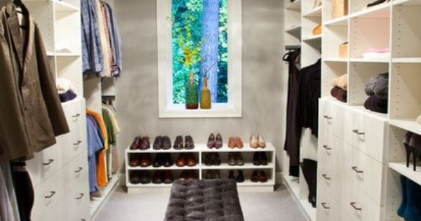 walk in master closet redo  Dunthorpe Estate Oregon Walk In Closet, Contemporary ...