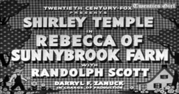 Rebecca Of Sunnybrook Farm Part 1 5 1938 Youtube Youtube Kid Movies Black And White Movie
