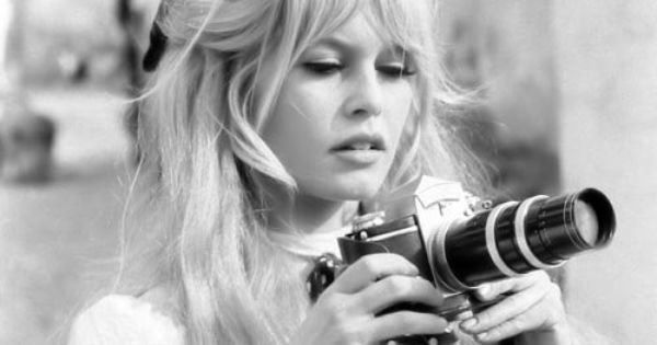 #BrigitteBardot camera photography click