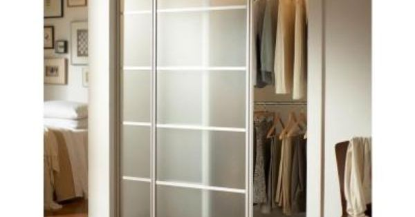 Contractors Wardrobe 72 In X 81 In Silhouette 5 Lite Satin Clear Aluminum Frame Mystique Glass Interior Sliding Door Si5 7281sc2r The Home Depot Modern Closet Doors Sliding Closet Doors Sliding Door Design