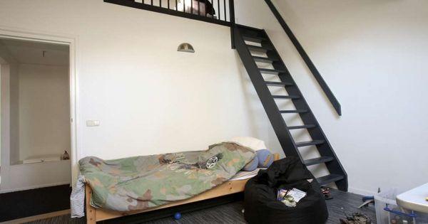 Zo 39 n vide zou mijn zoon geweldig vinden op zijn kamer huis ideeen pinterest mijn zoon - Tiener mezzanine ...