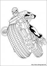 Ultimate Spider Man Coloring Pages On Coloring Book Info Spiderman Coloring Superhero Coloring Pages Drawing Superheroes