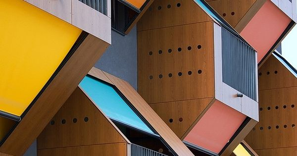 honeycomb apartments / slovenia